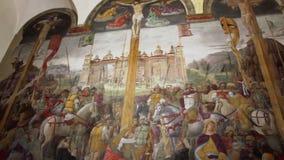 La pintura de la crucifixión metrajes