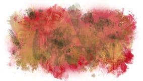 La pintura derramada salpica ilustración del vector