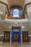 La pintura en la bóveda de la catedral naval del santo Nichola imagen de archivo libre de regalías