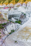 La pintura mina el parque interpretativo Colorado Springs Calhan imágenes de archivo libres de regalías
