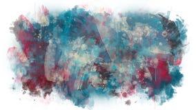La pintura multicolora se separa libre illustration