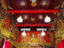La pintura mural en el templo foto de archivo libre de regalías