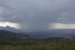 La pioggia sta venendo Immagini Stock