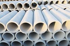 La pipe concrète photographie stock libre de droits