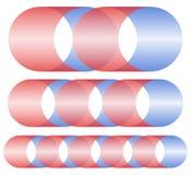 La piqûre/brin abstraits forme dans différentes longueurs illustration stock