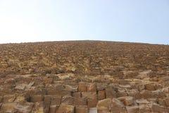 La pirámide de Cheops Fotos de archivo libres de regalías