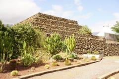 La pirámide de Guanches Imagen de archivo libre de regalías