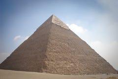 La pirámide de Khafrae Foto de archivo