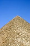 La pirámide detalla el primer de giza, cario, Egipto Fotos de archivo