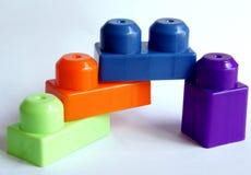 Blocchi colorati Fotografie Stock Libere da Diritti
