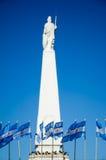 La piramide della Mayo dentro può sqare, Buenos Aires, Argentina Fotografie Stock