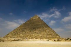 La piramide di Cheops di Giza Fotografia Stock