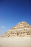 La piramide di Djoser, Egitto di punto fotografia stock