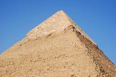 La piramide di Kefren a Il Cairo, Giza, Egitto immagini stock libere da diritti