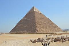 La piramide di Khafre fotografia stock libera da diritti