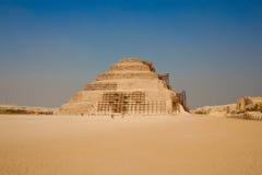 La piramide di punto di Djoser immagini stock