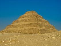 La piramide di punto di Netjerykhet fotografie stock libere da diritti