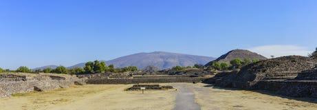 La piramide famosa del Sun e della luna Fotografia Stock