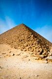 La piramide rossa nell'Egitto fotografie stock libere da diritti