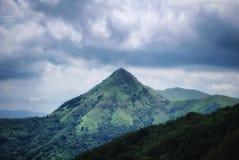 La piramide verde Fotografia Stock