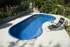 La piscina Imágenes de archivo libres de regalías