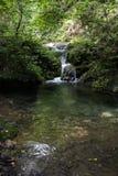 La piscina clara en el valle Imagenes de archivo