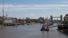 La piscina de Londres del puente de Londres Fotos de archivo libres de regalías
