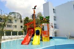 La piscina dei bambini di Sunconnect Sofianna Fotografia Stock