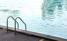 La piscina del paisaje para se relaja Imagen de archivo