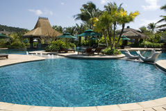 La piscina, il mondo fresco e fresco è in Cina, isole di Davao. Immagine Stock Libera da Diritti