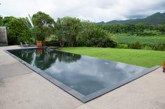 La piscina nera fotografia stock libera da diritti