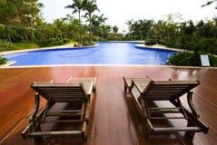 La piscine Photographie stock