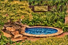 La piscine de patauger Photo libre de droits