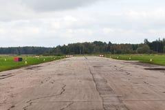 La pista para los pequeños aviones Imágenes de archivo libres de regalías