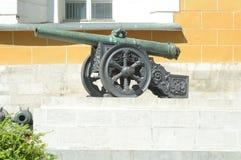 La pistola artiglieria Fotografia Stock