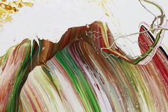 La pittura astratta colora il fondo Fotografia Stock Libera da Diritti