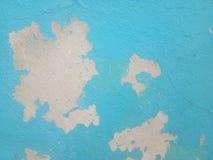 La pittura per esterni si deteriora sul vecchio pavimento del cemento per fondo immagine stock libera da diritti
