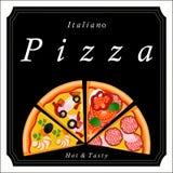 La pizza Photographie stock