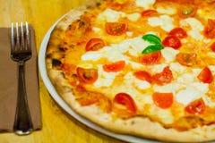 La pizza italiana Fotografia Stock