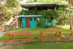 La pizzeria du Mac dans les Caraïbe Photographie stock libre de droits
