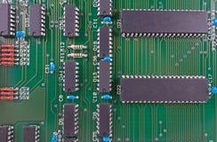 La placa de circuito Imagen de archivo libre de regalías