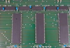 La placa de circuito Fotografía de archivo