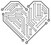 La placa madre del corazón libre illustration