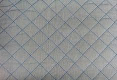 La place bleue a piqué sur la PA sans couture de fond d'édredon de gris argenté Images libres de droits