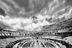 La place célèbre de Colosseum Image libre de droits