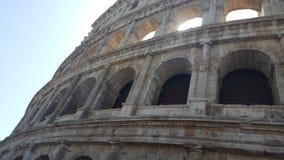 La place célèbre de Colosseum Photographie stock libre de droits