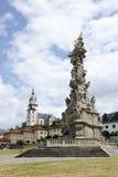 La place centrale de Kremnica Images libres de droits