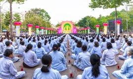 La place chickened célèbrent Bouddha Amitabha Image stock