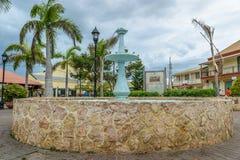 La place de l'eau à Falmouth, Jamaïque images libres de droits