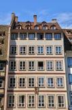 La Place de la Cathedrale在史特拉斯堡 免版税库存图片